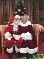 Santa Jerry and Mrs Claus