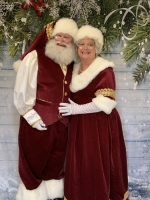 Santa and Mrs Claus